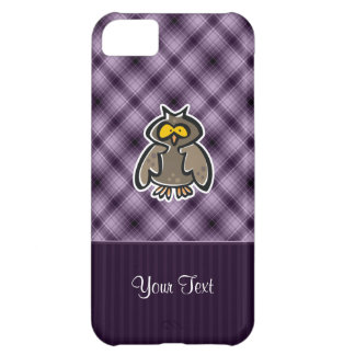 Purple Owl Cover For iPhone 5C