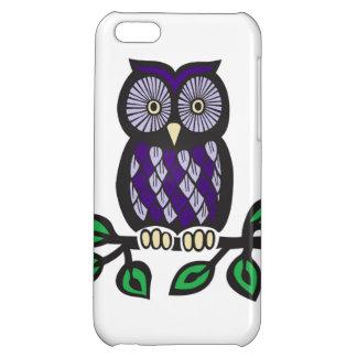 Purple Owl Iphone 5c Case! iPhone 5C Case