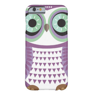 Purple Owl iPhone 6 case Barely There iPhone 6 Case