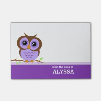Owl Post It Notes