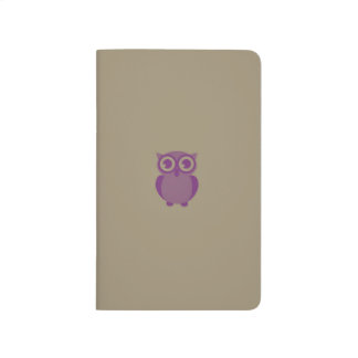 Purple Owl Pocket Journal