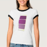 Purple Paint Sample Card T-shirt