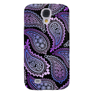 Purple Paisley Galaxy S 4 Case