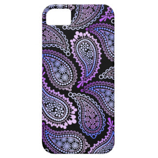 Purple Paisley iPhone 5/5S Case