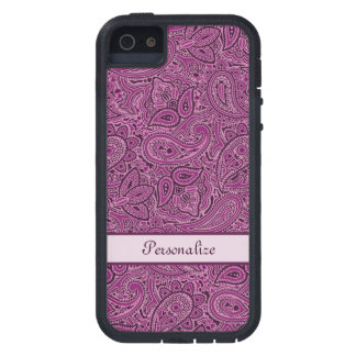 Purple Paisley Pattern iPhone 5 Cover