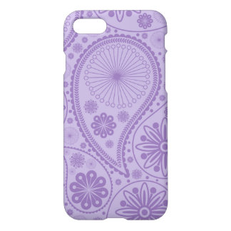 Purple paisley pattern iPhone 8/7 case
