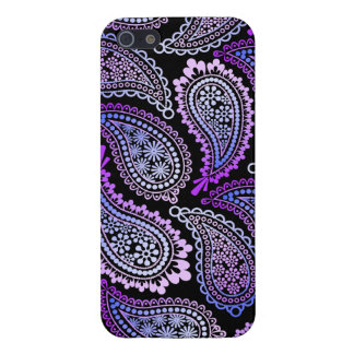Purple Paisley Savvy iPhone 5/5S Case