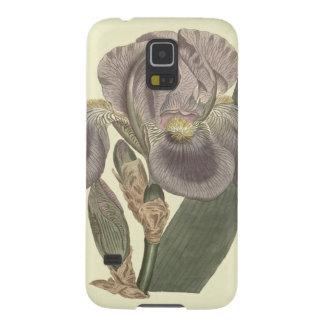 Purple Pale Flag Iris Illustration Galaxy S5 Cases