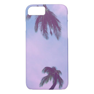 Purple Palm Sky iPhone 8/7 Case