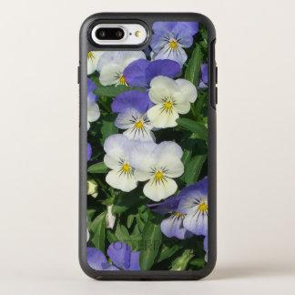 Purple Pansies OtterBox Symmetry iPhone 7 Plus Case