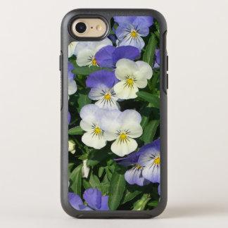 Purple Pansies OtterBox Symmetry iPhone 8/7 Case