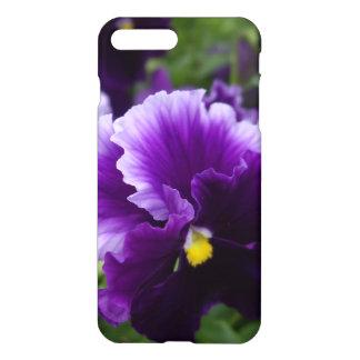 Purple Pansies Savvy iPhone 7 Case