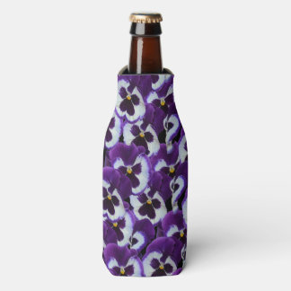 Purple_Pansy_Bouquet,_Stubby_Cooler_Holder.