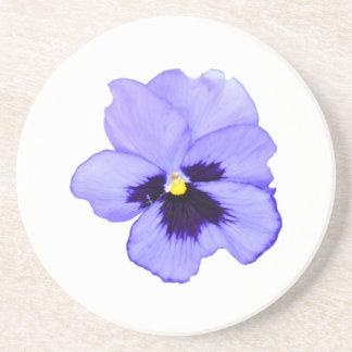 Purple Pansy Coaster