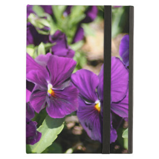 Purple Pansy iPad Air Cover