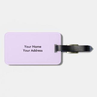 Purple Pansy Luggage Tag
