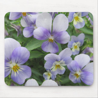 Purple Pansy Mouse Pad Will Brighten Your Office