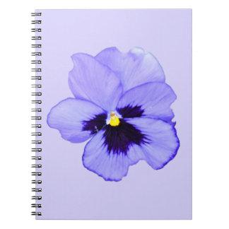 Purple Pansy Notebooks