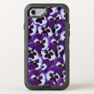 Purple Pansy OtterBox Apple iPhone 7 Defender Case