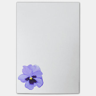 Purple Pansy Post-it® Notes