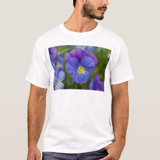 Purple Pansy T-Shirt