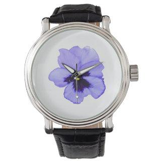Purple Pansy Watch