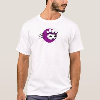 Purple Panther Soccer T-Shirt
