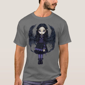 Purple Paper Hearts gothic fairy Shirt
