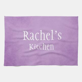 Purple Parchment beauty Tea Towel