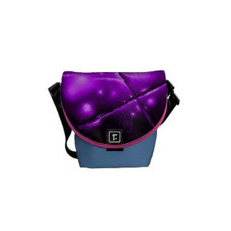 PURPLE PASSION COURIER BAGS