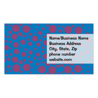 purple passion feeling blue moon art dizzy dots pack of standard business cards