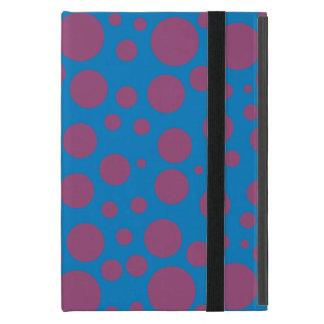 purple passion feeling blue moon circle pattern cover for iPad mini