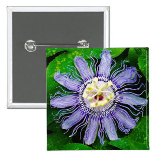 Purple Passion Flower Pin
