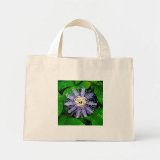 Purple Passion Flower... Canvas Bag