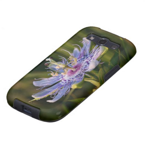 Purple Passion Flower Galaxy S3 Case