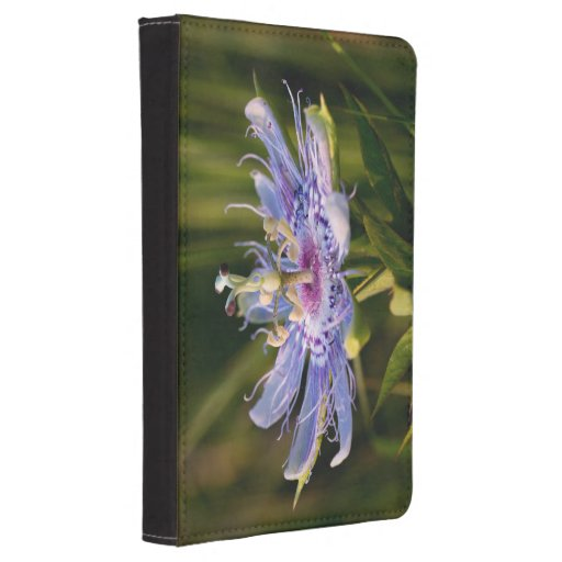 Purple Passion Flower Kindle Touch Cover