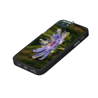Purple Passion Flower Case For iPhone 5