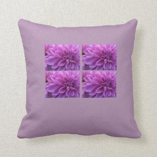 Purple Passion Flower Garden Pillow Cushions