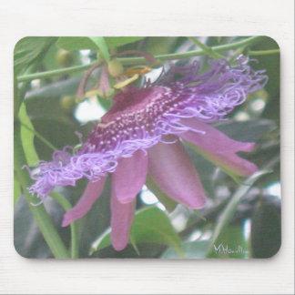 Purple Passion Flower Photo Mousepad