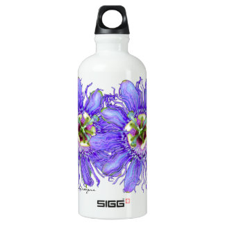 Purple Passion Flower SIGG Traveller 0.6L Water Bottle