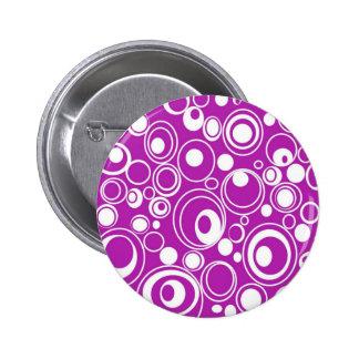 Purple Pattern Button