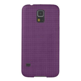 Purple Pattern Case For Galaxy S5