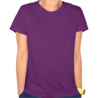 Purple Paw Print T Shirts