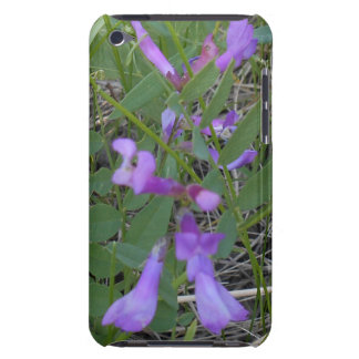 Purple Pea Vine iPod Touch 4G Case Barely There iPod Covers