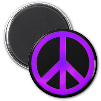 Purple Peace Magnet