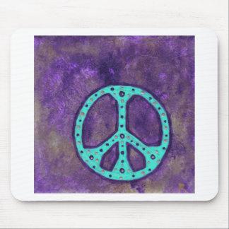 Purple Peace Mouse Mat