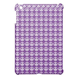 Purple peace sign iPad mini Case For The iPad Mini
