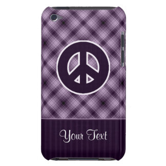Purple Peace Sign iPod Touch Case-Mate Case