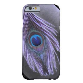 Purple Peacock Feather iPhone 6 case