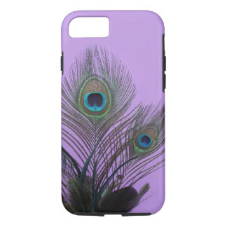 Purple Peacock Feather iPhone 7 Case